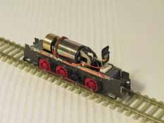 Zimo MX62 in scratchbuilt ÖBB 2067 chassis